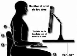 Enlace a Postura en el ordenador