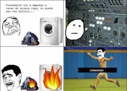 Enlace a La primera vez usando la lavadora