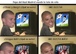 Enlace a La infancia de Pepe del Real Madrid