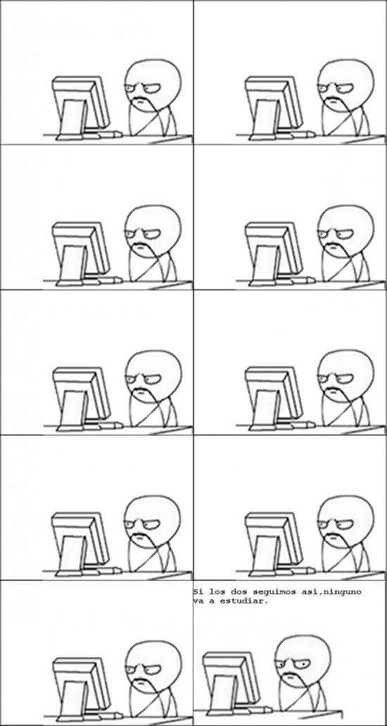 computer guy,estudiar