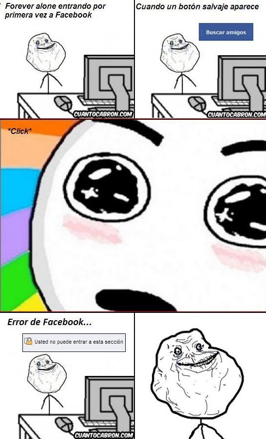 Forever_alone - Forever Alone en Facebook