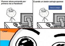 Enlace a Forever Alone en Facebook
