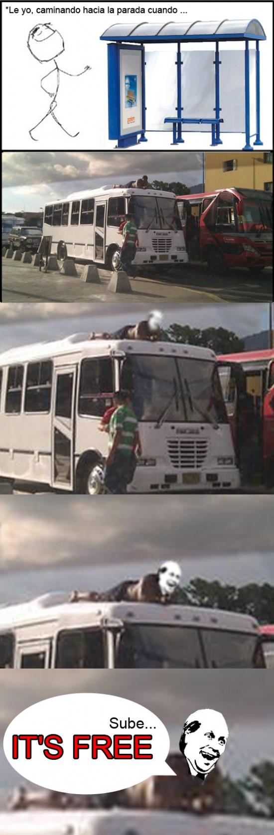 Its_free - Viajo en transporte público