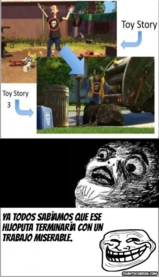 sid phillips,toy story,toy story 3,trollface