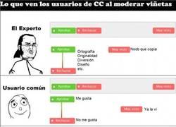 Enlace a Cómo ven la moderación los usuarios de CC