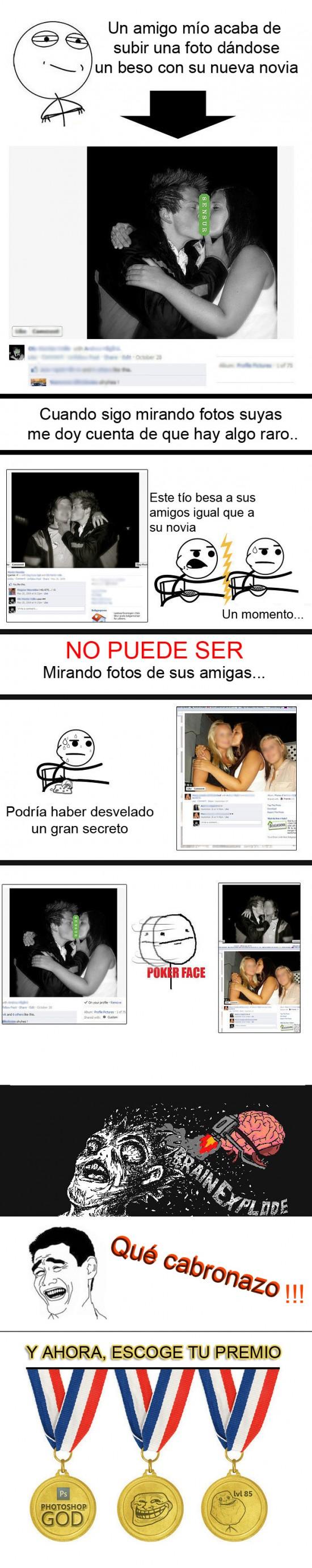 beso,forever alone,novia,Photoshop,premio,troll