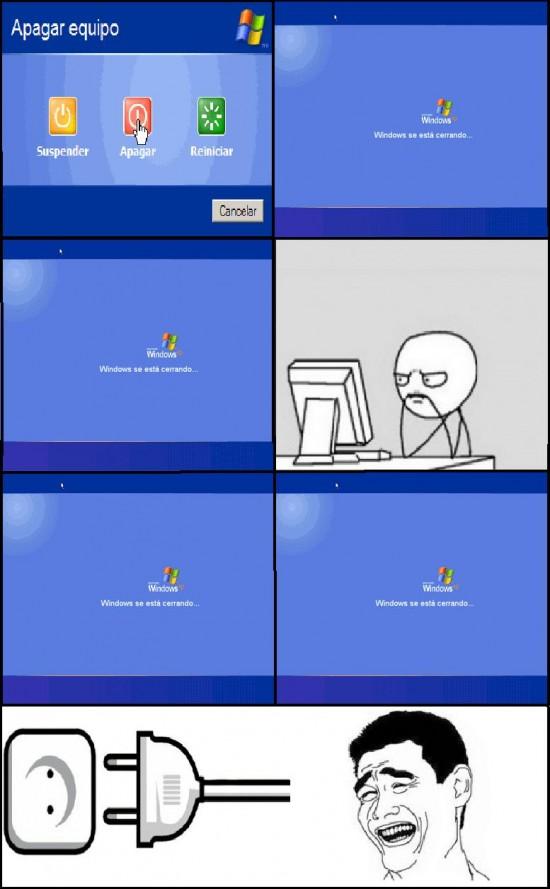 Yao - Windows se está cerrando