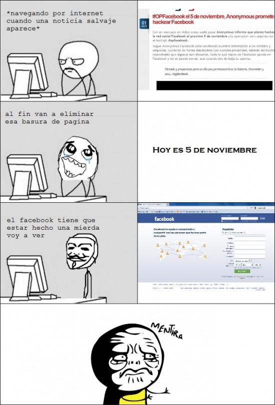 Mentira - OFFacebook