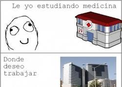 Enlace a Estudiando medicina