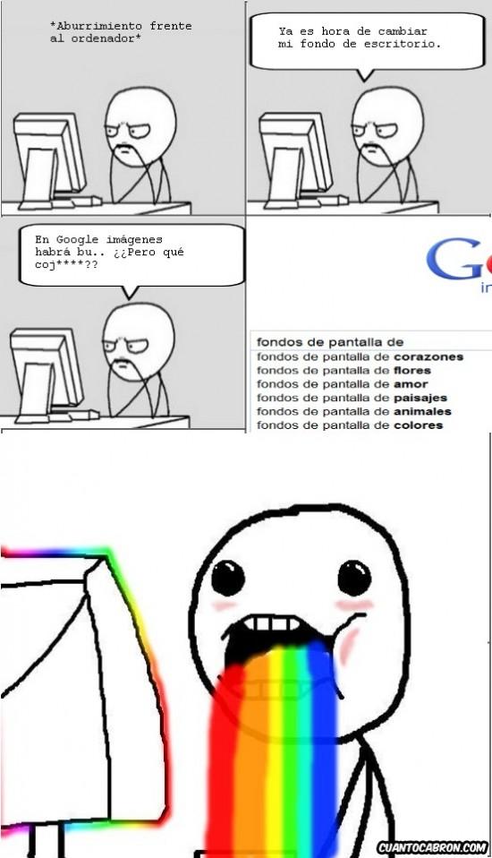 Puke_rainbows - Google rainbows