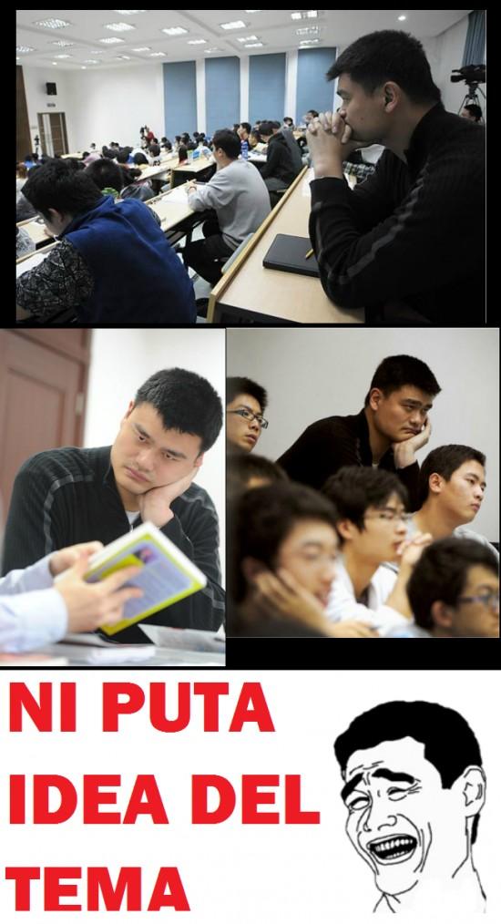 Universidad,Yao Ming