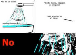 Enlace a ¿Alguien en la ducha?