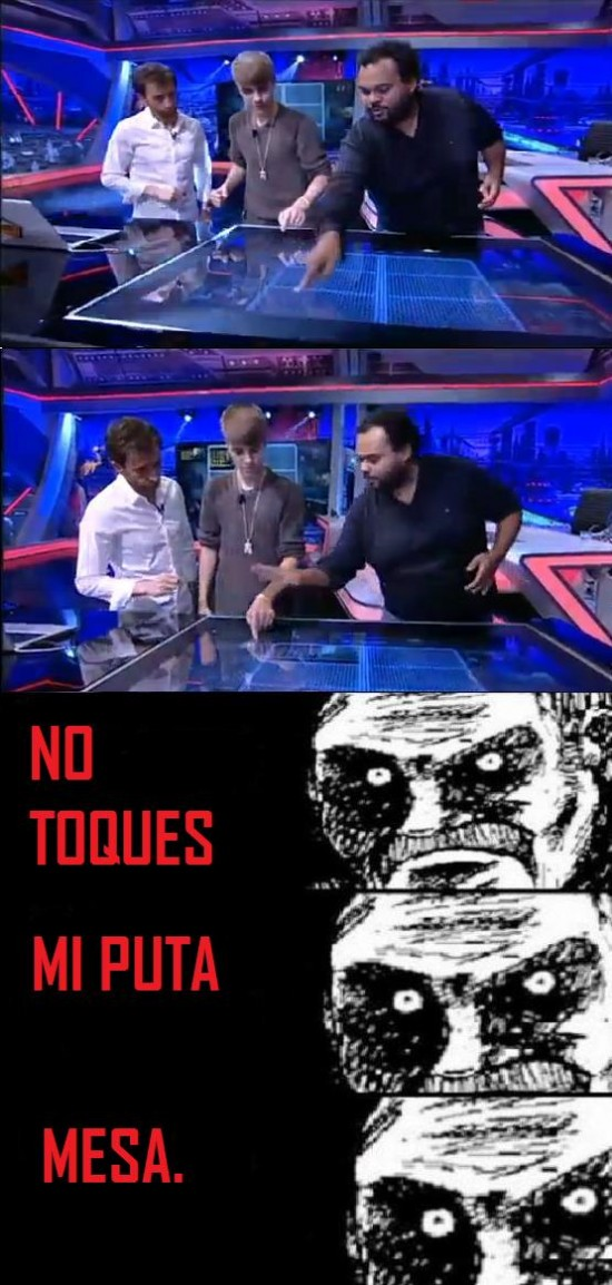 Mirada_fija - Carlos Jean se enfada