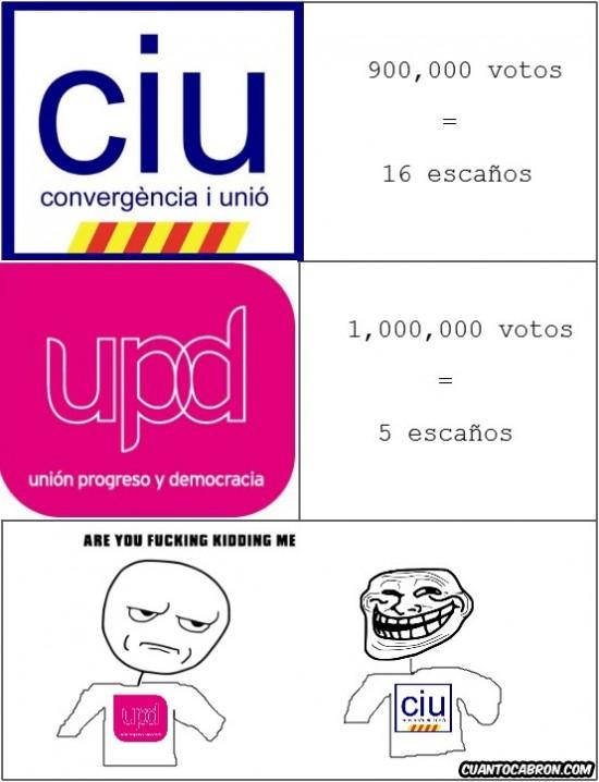 basura,chupamela,ciu,elecciones,Rajoy,rubalcaba,troll,trollciones,upyd