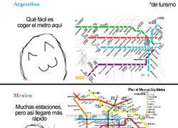 Enlace a Metros alrededor del mundo