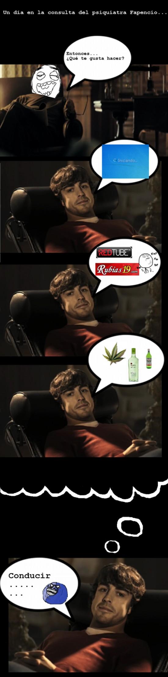 alcohol,Alonso,conducir,drogas,psiquiatra