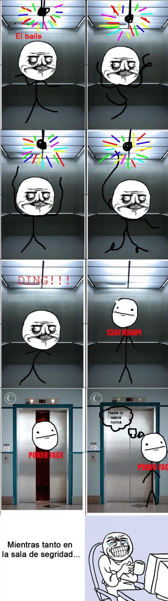 ascensor,Baile,solitario