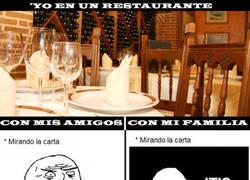 Enlace a En un restaurante