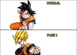 Enlace a La fase final del Super Sayayin