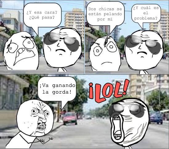 Y_u_no - Pelea en la calle