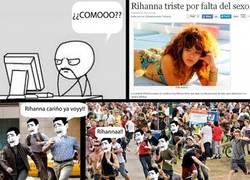 Enlace a Rihanna Triste