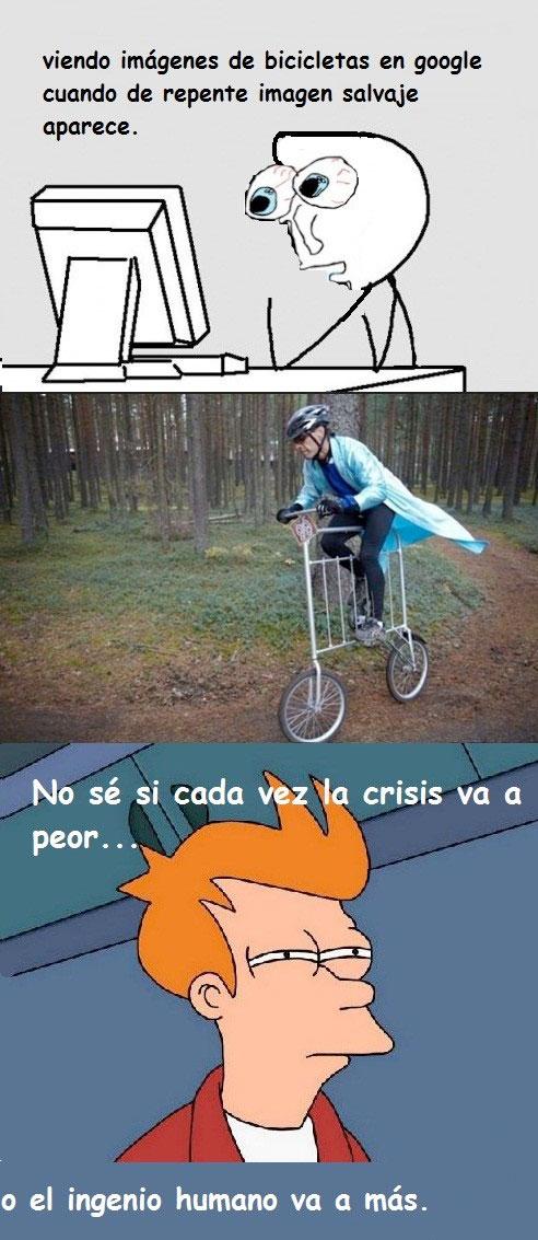 Fry - La bicicleta