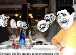 Enlace a Cena con los amigos