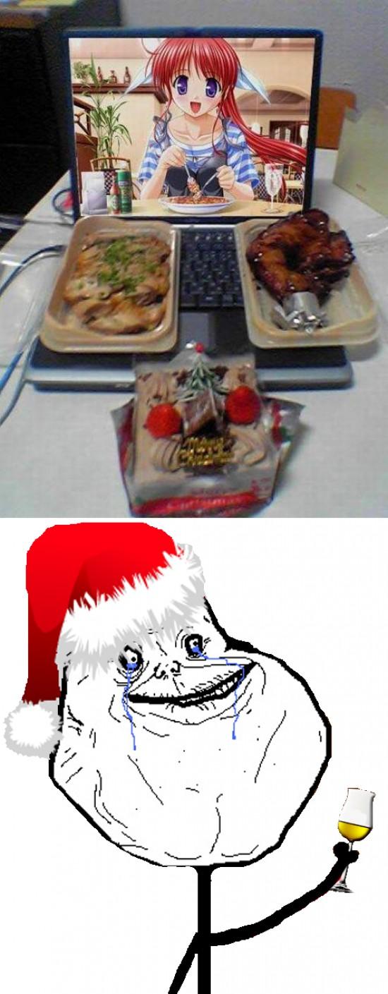 Forever_alone - La Navidad de Forever Alone