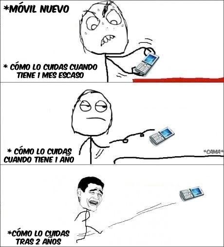 Yao - Cómo cuidas el móvil a medida que pasa el tiempo