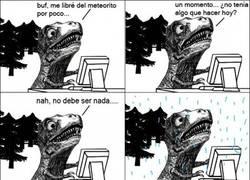 Enlace a El fin del dinosaurio