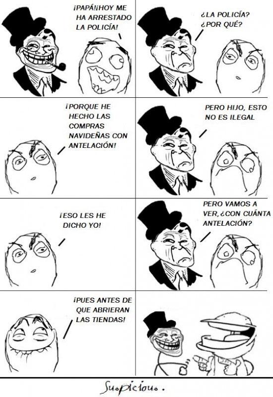 Trolldad - Demasiada antelación