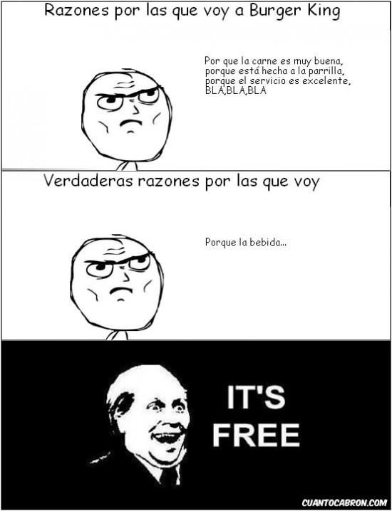 Its_free - La verdad sobre Burger King