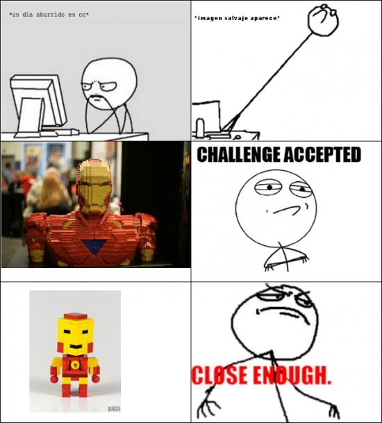 Fuck_yea - Ironman con Lego