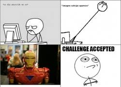 Enlace a Ironman con Lego