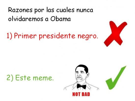 Not_bad - Recordaremos A Obama