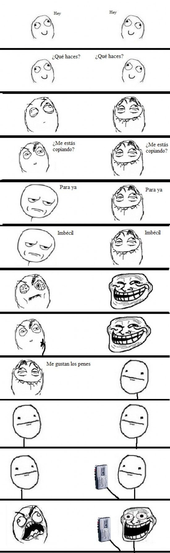 Trollface - Repeticiones