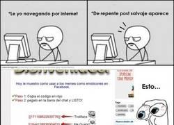Enlace a Meme-Emoticons en Facebook