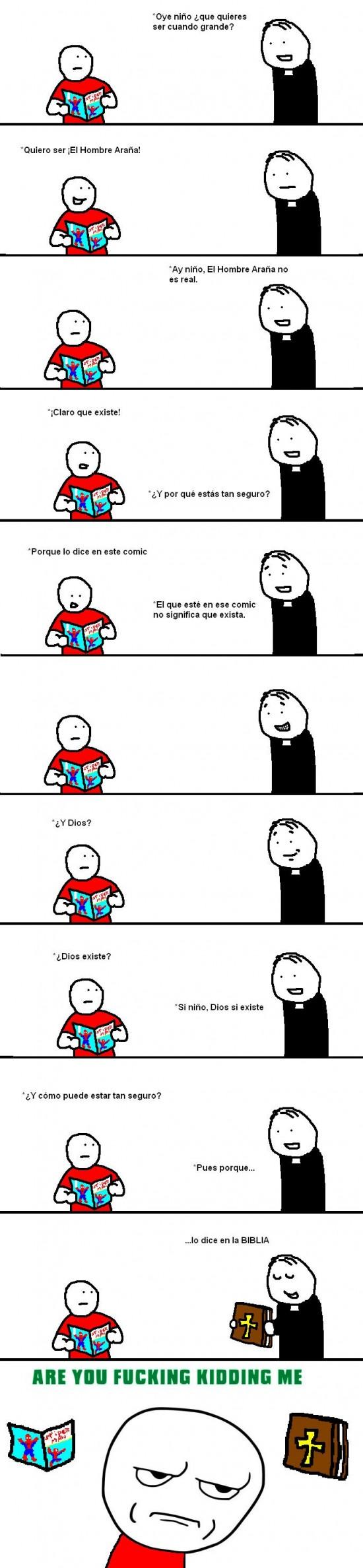 comic,dios,existir,spiderman