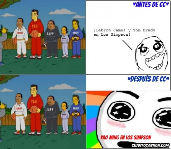 Amazed - Yao en Los Simpson