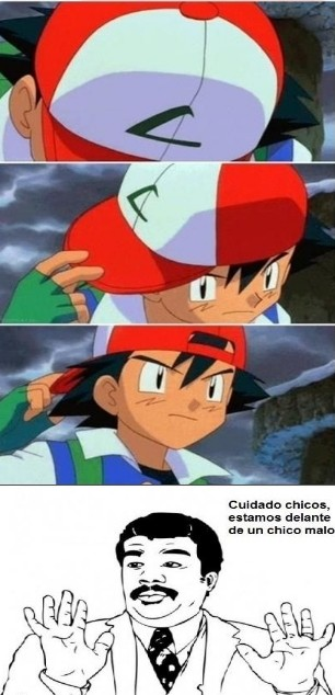 Watch_out - Ash es un malote