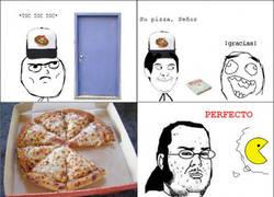 Enlace a El pizzero amable