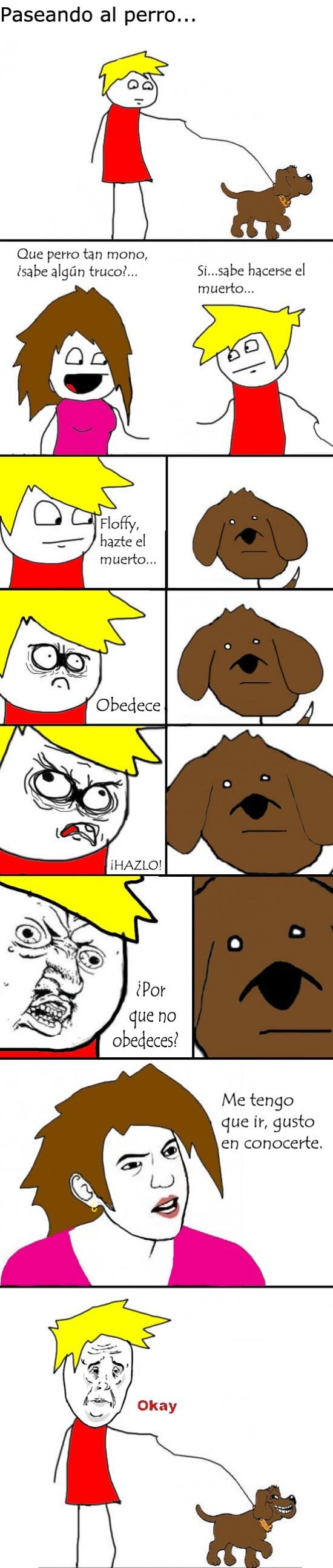 Trollface - Perro troll, que te deja en la estacada en el último momento
