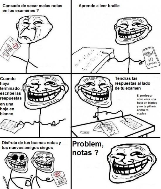 Trollface - Problem, exámenes?