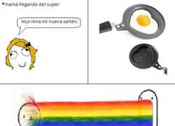 Enlace a Sartén rainbows