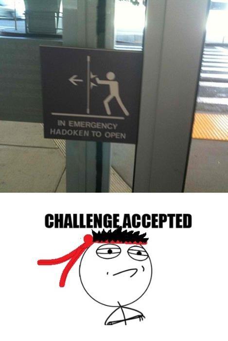 Challenge_accepted - En caso de emergencia