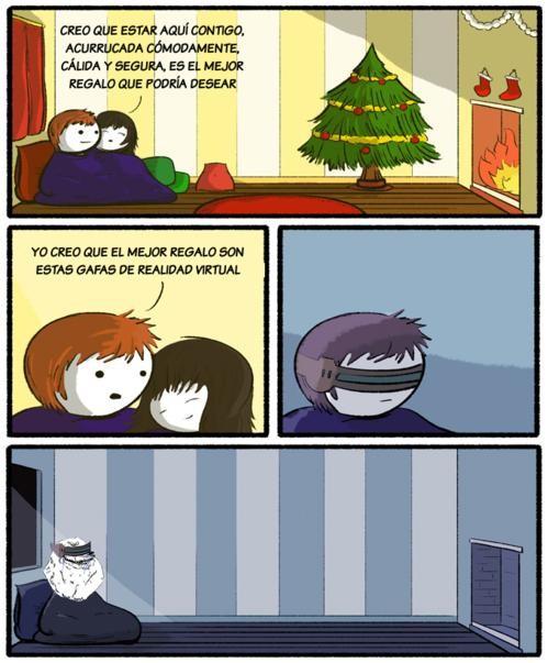 Forever_alone - Realidad Virtual para Navidad
