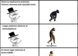 Enlace a La evolución