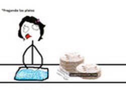 Enlace a Lavando los platos