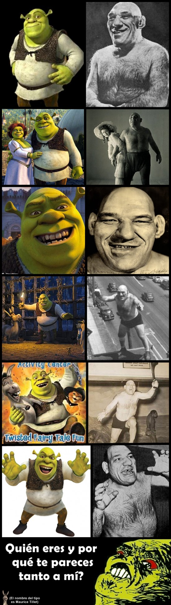 Inglip - Shrek en el mundo real