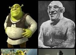 Enlace a Shrek en el mundo real